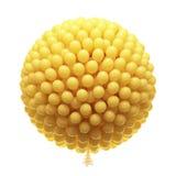 Grote bos van partijballons. Stock Fotografie