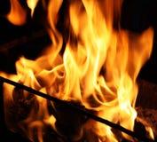 Grote brand Royalty-vrije Stock Afbeeldingen
