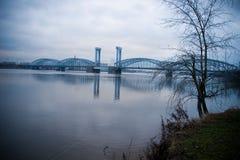 Grote brug Royalty-vrije Stock Afbeeldingen