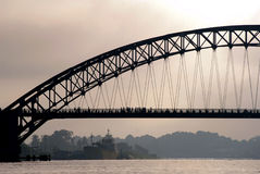 Grote brug Royalty-vrije Stock Foto's