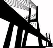 Grote brug Stock Afbeeldingen