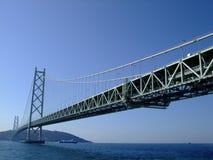 Grote brug dwarsoverzees Royalty-vrije Stock Afbeeldingen