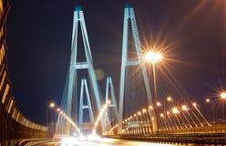 Grote brug in St. Petersburg Royalty-vrije Stock Afbeeldingen