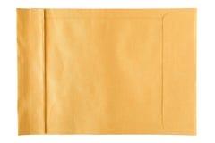Grote bruine enveloppen Stock Foto