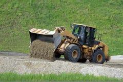 Grote bulldozer Stock Foto