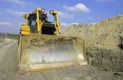 Grote bulldozer 3 Stock Foto