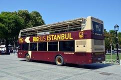 Grote Bus Istanboel royalty-vrije stock afbeelding