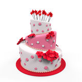 Grote Cake  Royalty-vrije Stock Afbeeldingen