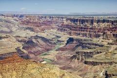 Grote Canion, Arizona, de V Royalty-vrije Stock Afbeeldingen