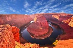Het landschap van de V.S., Grote canion. Arizona, Utah, de Verenigde Staten van Amerika Stock Afbeelding