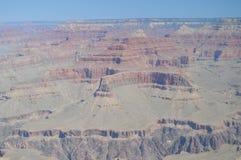 Grote Canion van de Rivier van Colorado Hermistrust Route Geologische vormingen stock afbeeldingen