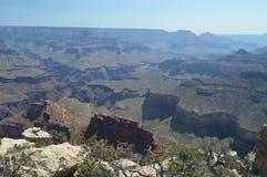 Grote Canion van de Rivier van Colorado Hermistrust Route Geologische vormingen stock afbeelding