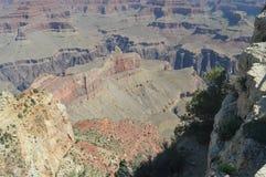Grote Canion van de Rivier van Colorado Hermistrust Route Geologische vormingen royalty-vrije stock fotografie