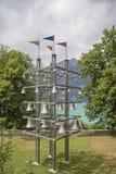 Grote Carillon op Meer Luzerne royalty-vrije stock afbeeldingen