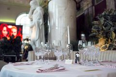 Grote catering Stock Foto