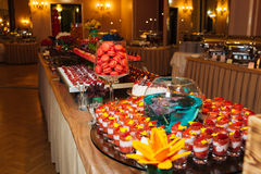 Grote catering Stock Foto's
