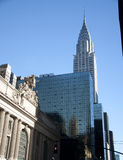 Grote centraal in New York stad Stock Foto's