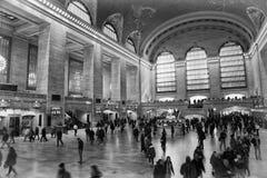 Grote centrale eindpost in de stad van New York Royalty-vrije Stock Foto's