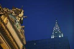 Grote Centrale Post, Chrysler royalty-vrije stock foto's