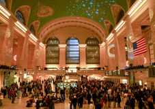 Grote Centrale Post, de Stad van New York Royalty-vrije Stock Fotografie