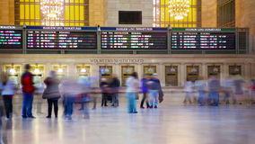 Grote Centrale Terminal stock footage