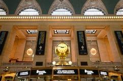 Grote Centrale Terminal, de Stad van New York Stock Afbeeldingen
