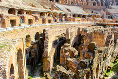 Grote Colosseum, Rome, Italië stock foto's