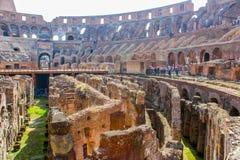 Grote Colosseum, Rome, Italië royalty-vrije stock fotografie