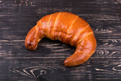 Grote croissant Stock Foto's