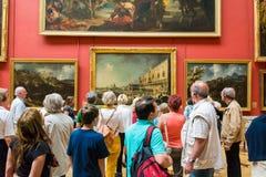 Grote Dakraamzaal Hier is de expositie Royalty-vrije Stock Foto's
