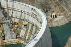 Grote dam Stock Foto