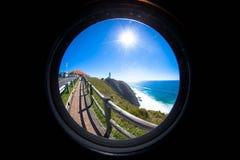 Grote de droom ziet vooruit eruit en voelt het stock fotografie