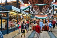 Grote de Marktzaal van Boedapest Royalty-vrije Stock Afbeelding
