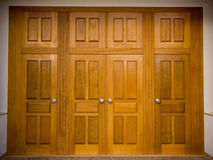 Grote deur Royalty-vrije Stock Fotografie