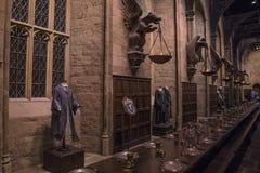 Grote die Zaal in Hogwarts in Leavesden wordt geplaatst royalty-vrije stock foto
