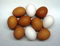 Grote eieren royalty-vrije stock foto