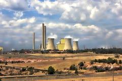 Grote elektriciteitskrachtcentrale Stock Fotografie