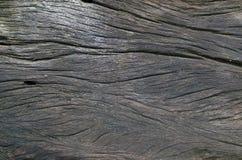 Grote en geweven donkere oude houten grungeachtergrond Royalty-vrije Stock Foto