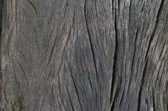 Grote en geweven donkere oude houten grungeachtergrond Royalty-vrije Stock Fotografie