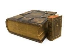 Grote en Kleine Bijbels Stock Foto