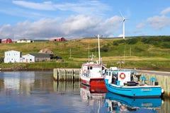 Grote Etang op de Capbot-Sleep in Kaap Breton, stock afbeeldingen