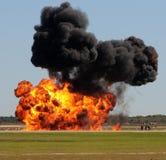 Grote explosie Royalty-vrije Stock Afbeelding