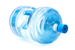 Grote fles water Stock Afbeelding