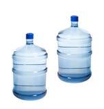 Grote Flessen water Stock Afbeelding