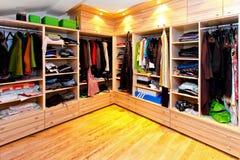 Grote garderobe Stock Afbeelding
