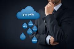 Grote gegevensanalytics stock fotografie
