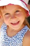 Grote gelukkige glimlach royalty-vrije stock afbeelding