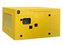 Grote generator stock foto