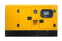 Grote generator stock fotografie