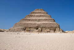 Grote Gestapte Piramide Royalty-vrije Stock Foto's